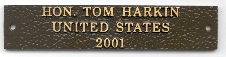 Cast Bronze for Memorial Plaque