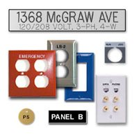 Allen Bradley, switch plates, and anything you need!